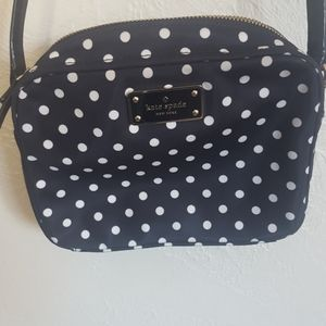 Kate Spade mini polka dot nylon crossbody